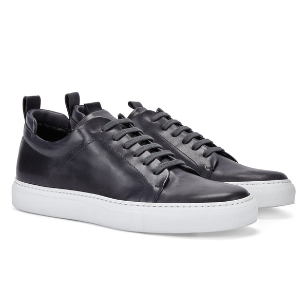 DON IN DARK GREY LEATHER