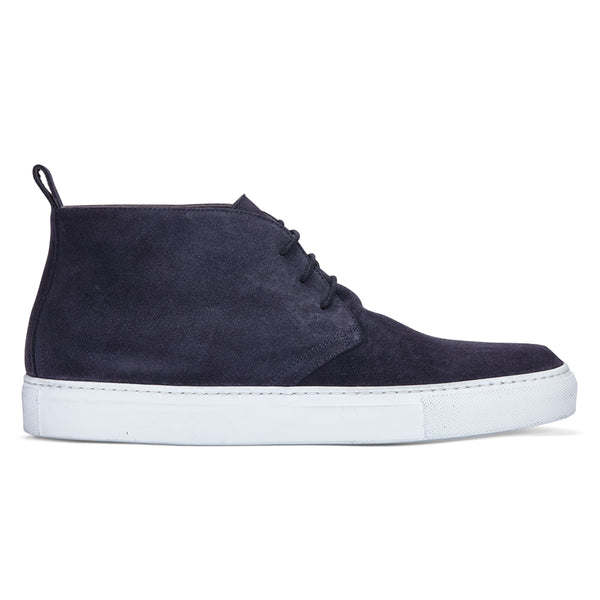 CHUKKA IN DARK GREY SUEDE