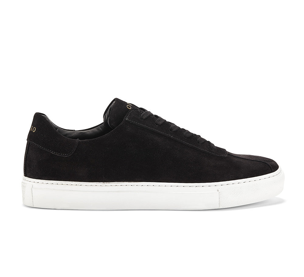 ROGER IN BLACK SUEDE