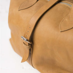 Mason Weekender - Tan leather