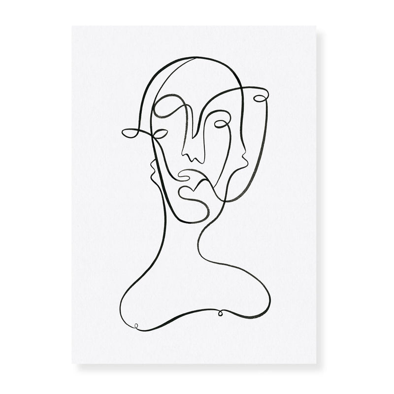 Faces - Angus Martin Print