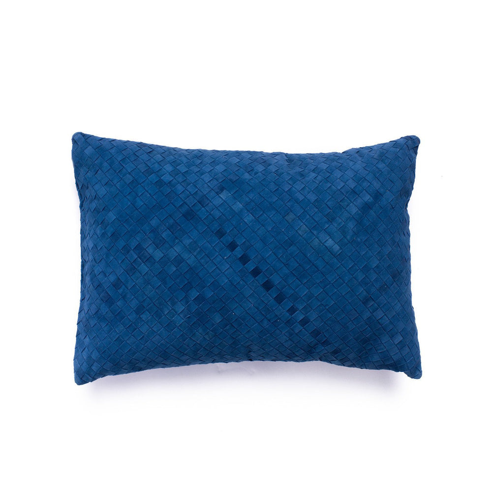 Fred Cushion - Navy Suede