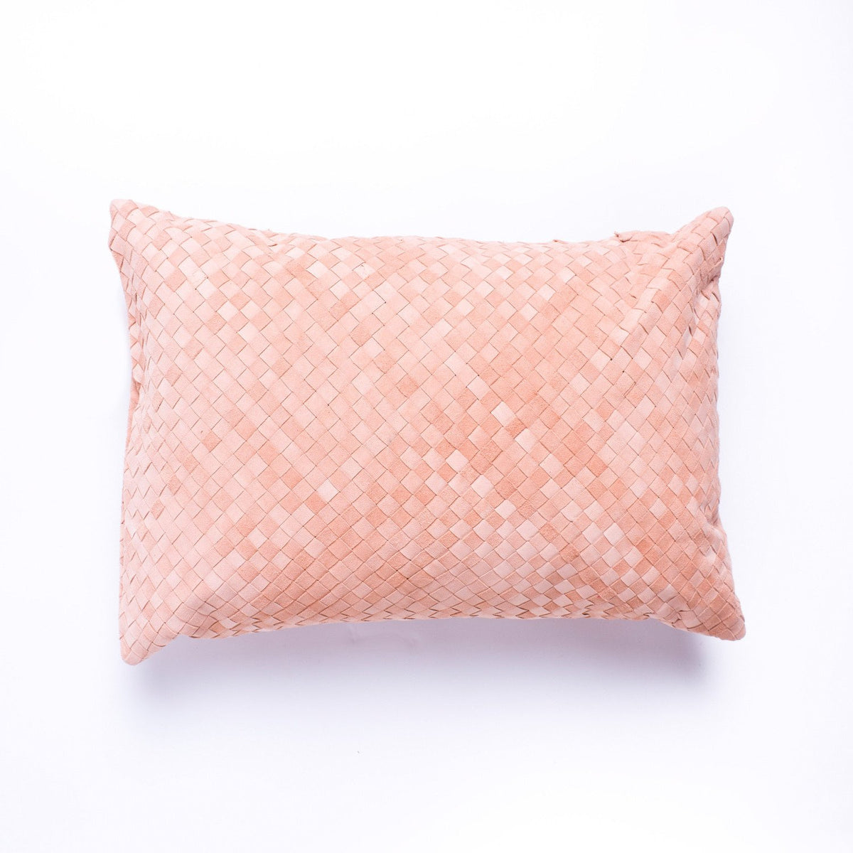 Fred cushion - Blush Suede