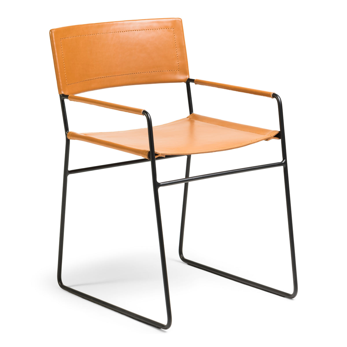 Boston Dining Chair - Whiskey