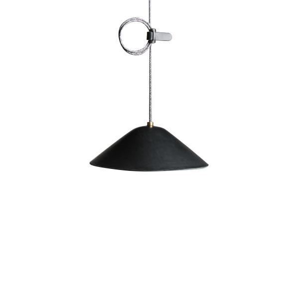 IE Francis Loop Pendant - Black