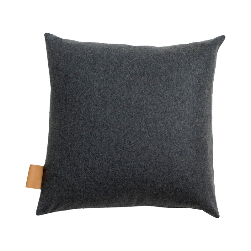 Frankie Square Cushion Cover  - Charcoal
