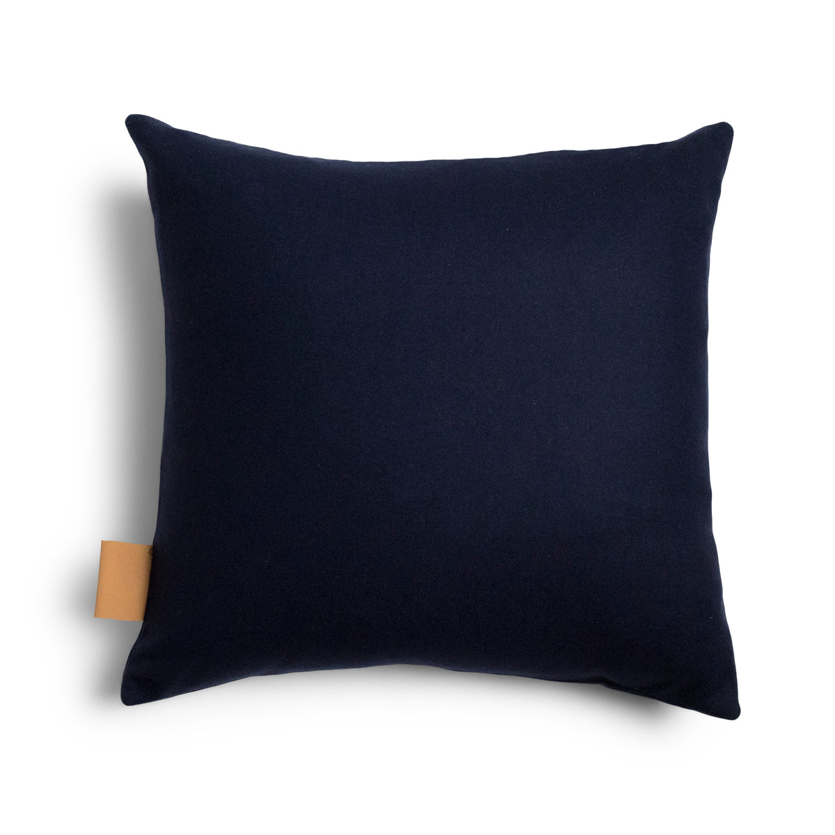 Frankie Square Cushion Cover - Navy
