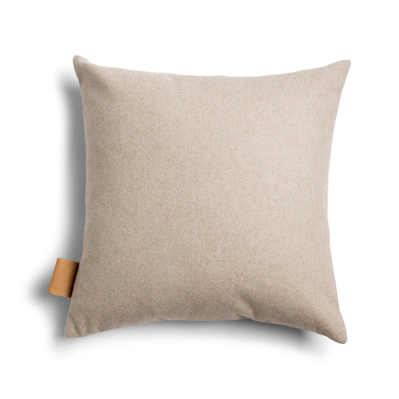 Frankie Square Cushion Cover - Oatmeal