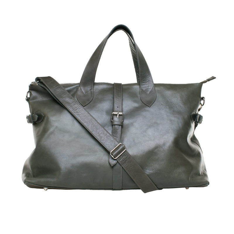 Mason Weekender - Olive leather