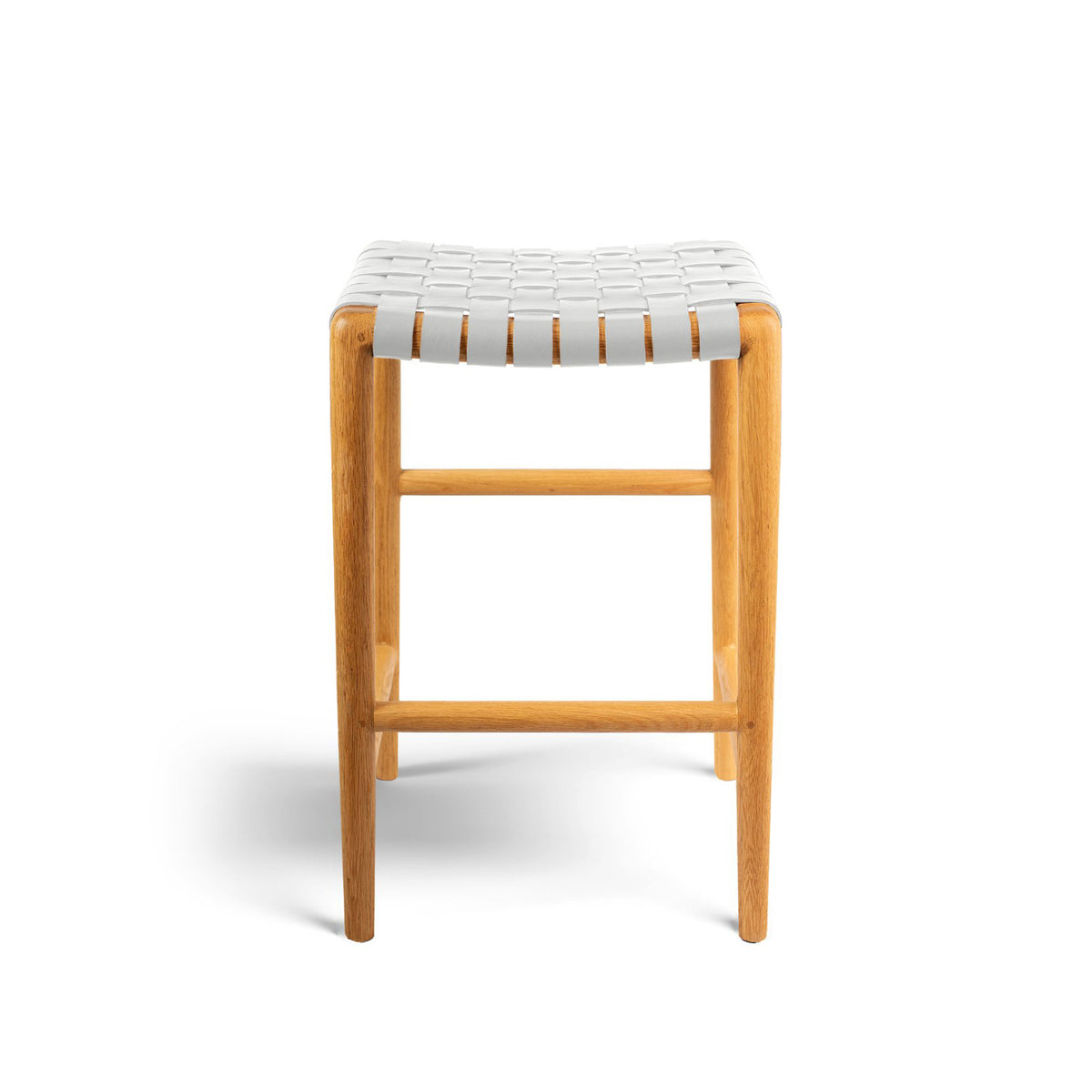 Tanner Stool Oak - Grey