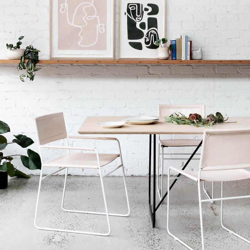 Jones Dining Chair - Rose Blush