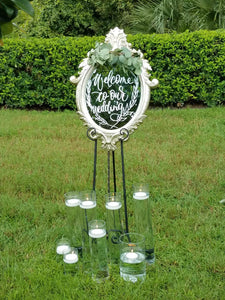 "16""H  Cylinder Vases Rental - ADR Decor"
