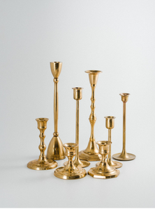 Brass Candlesticks - ADR Decor