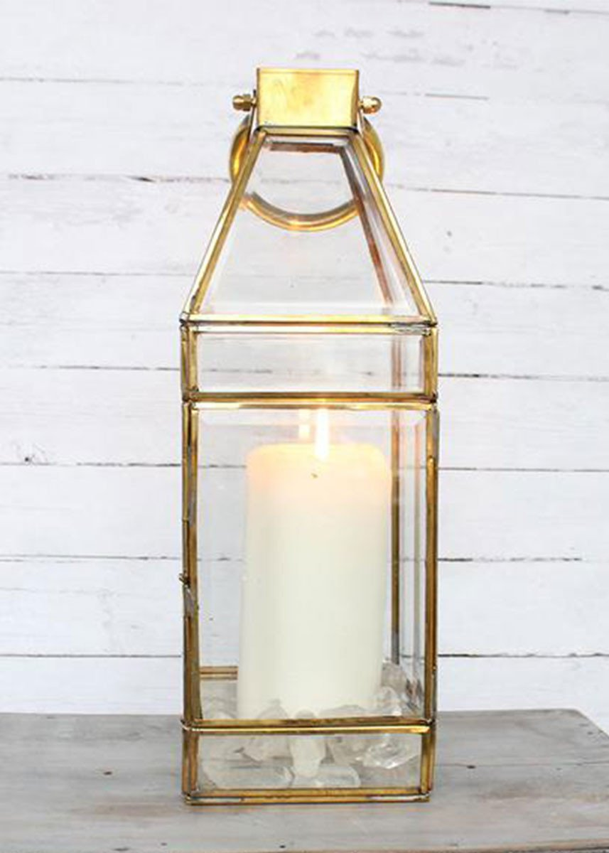 Gold Lantern for rent - ADR Decor
