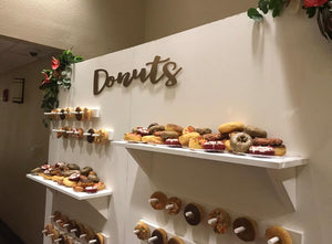 Donut Wall-Dessert Display Central FL Rental Only - ADR Decor
