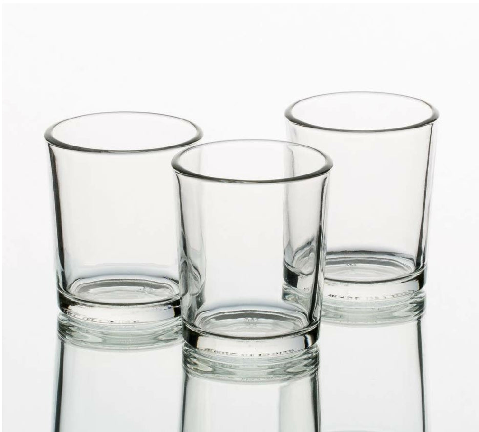 Clear Votive Candle Holder for Rent - ADR Decor