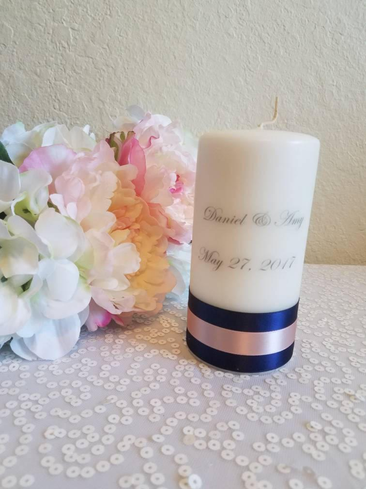 Personalized Wedding Candle Favors Weddding Gift Bridesmaids Gift
