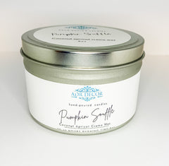 Pumpkin Soufflé Candle Travel Tin