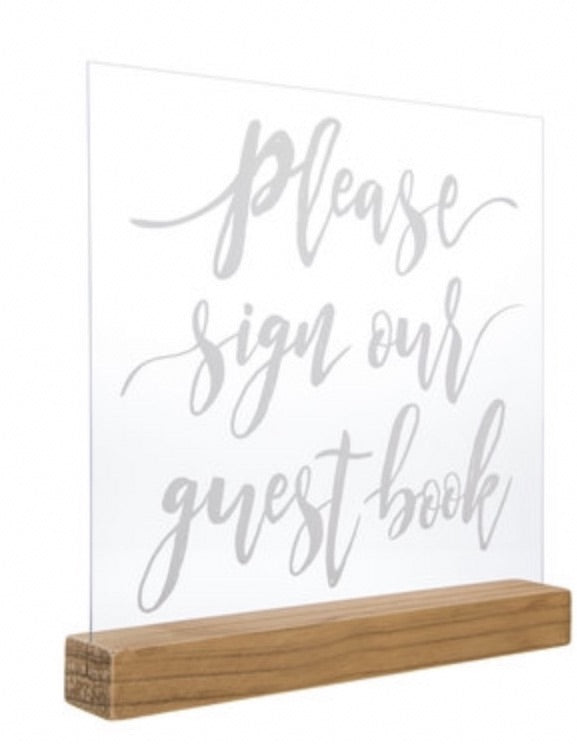 Please sign our guestbook sign rental - ADR Decor