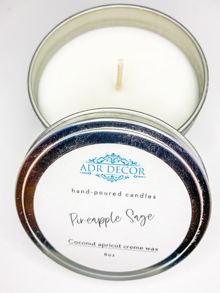 Pineapple Sage Scented Travel Tin