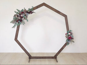 Hexagonal Arch Rental- Prebooking - ADR Decor