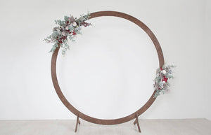 Circle Wedding Arch Rental-Prebooking - ADR Decor