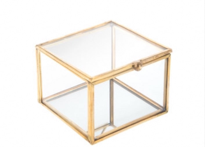 Gold Display Ring Box Rental - ADR Decor