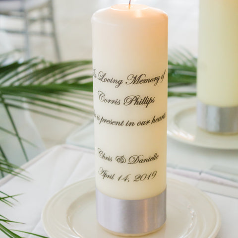 Personalized Memorial Candle - ADR Decor