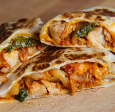 North Indian Quesadillas