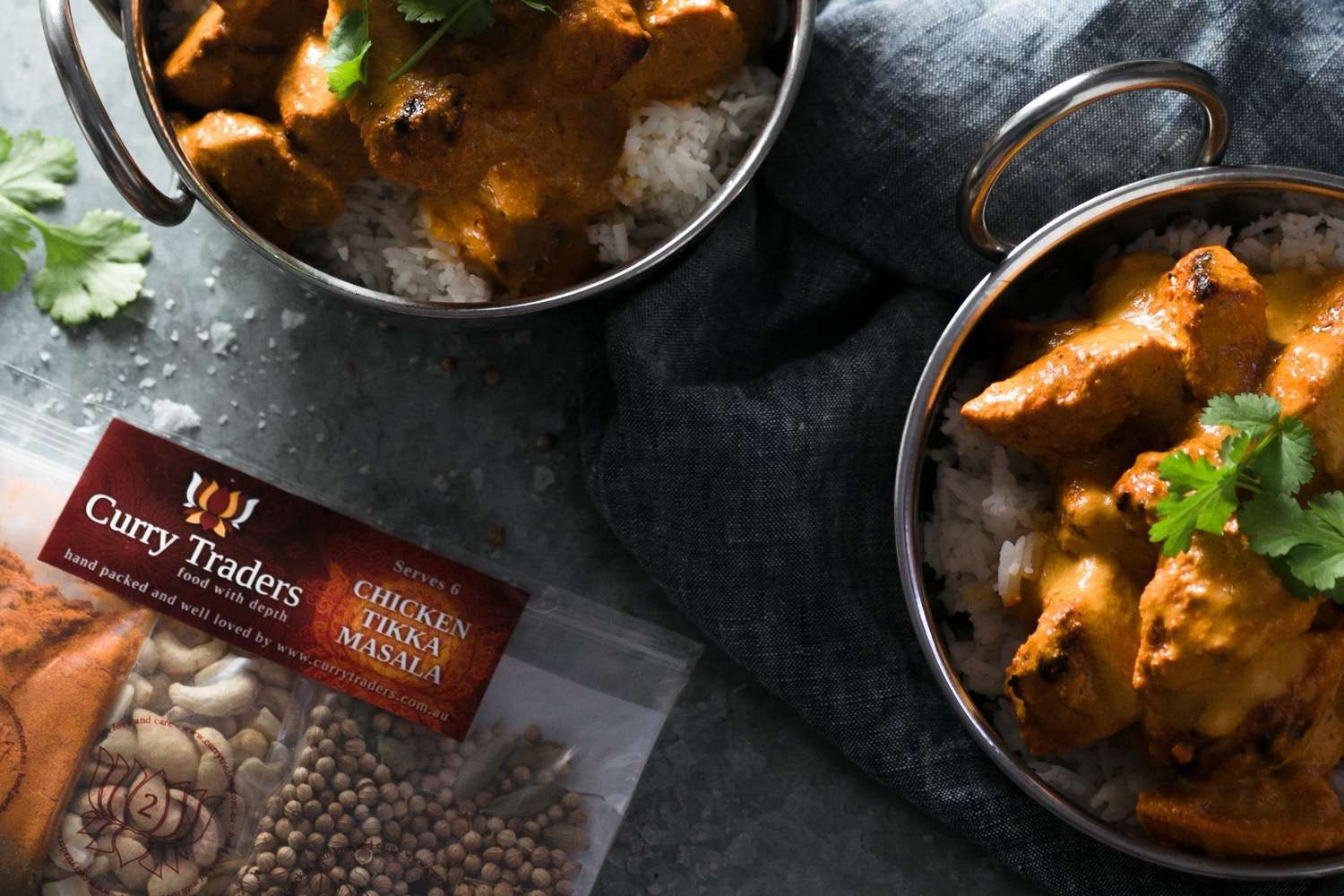 Chicken Tikka Masala easy to make at home gourmet kit