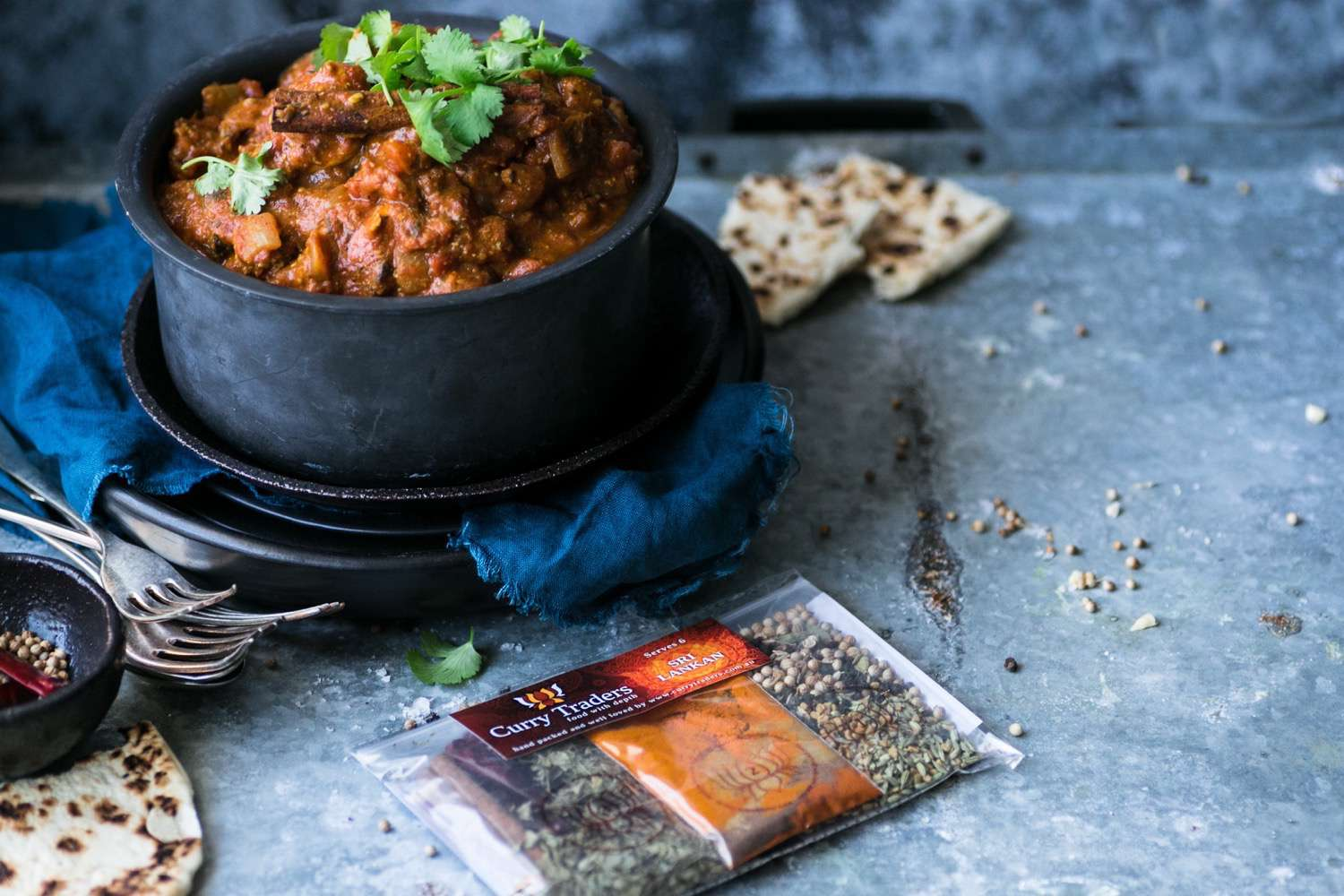 Sri Lankan Gourmet Curry Kit to make at home