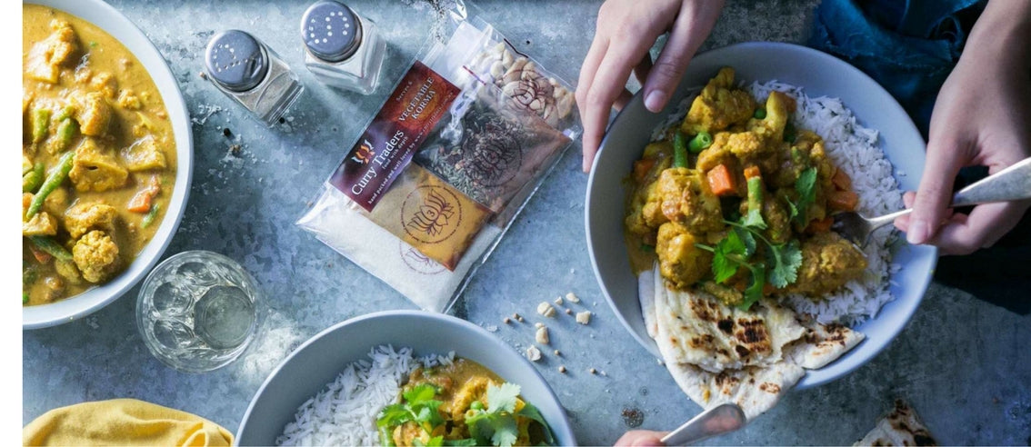 Vegetable Korma Curry make at home