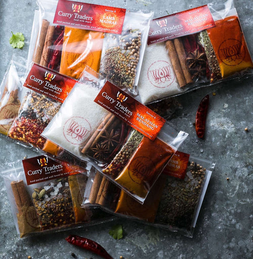 Hot Curry Kits - buy online and cook at home
