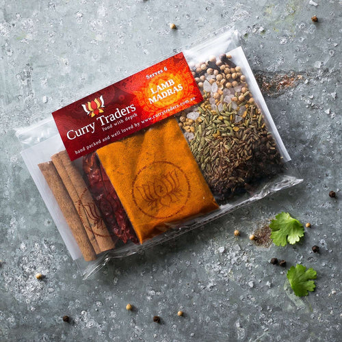 Lamb Madras Curry Gourmet Kit