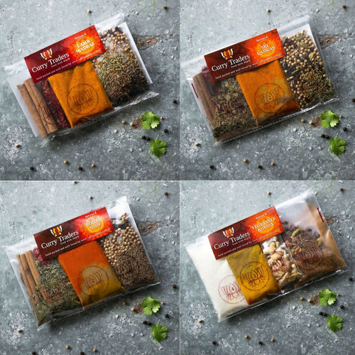 Vegetarian Combo Curry Pack