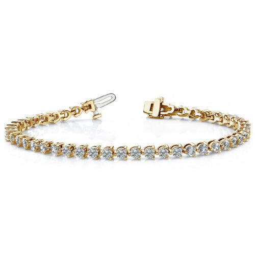3.22ctw Diamond Tennis Bracelet