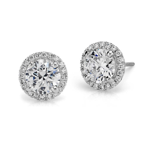 Baby Angel's Diamond Studs