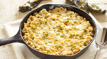 New Mexico Green Chile Mac and Cheese