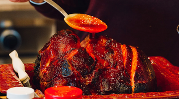 Honey and Red Chile Glazed Ham