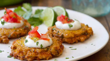 Corn and Green Chile Fritters
