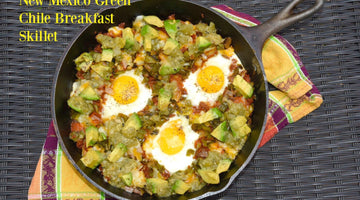 New Mexico Green Chile Breakfast Skillet