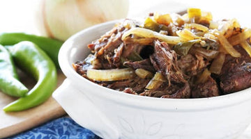 Slow Cooker Green Chile Beef