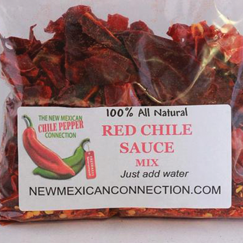 100% Natural Red Chile Sauce Mix