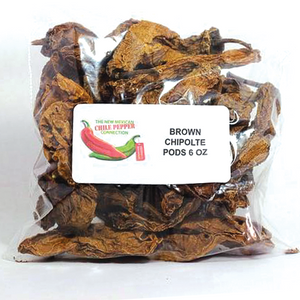 Brown Chipotle Peppers - 6 OZ