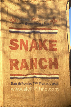Snake ranch chile sacks 6 sacks