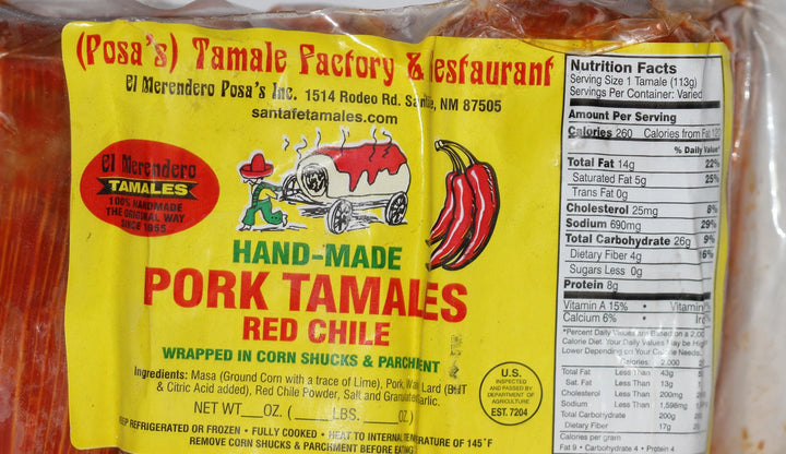Posa's Tamales 2 Pack 12  -24 Count