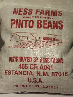 Ness Farms Pinto Beans Triple Cleaned