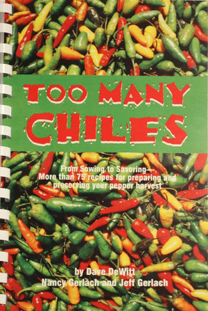 "cookbooks ""Too Many Chiles"""