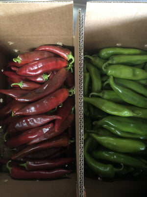 10% off all early orders! Fresh New Mexico Chile right off the vine!! Shipping starts Mid-August!