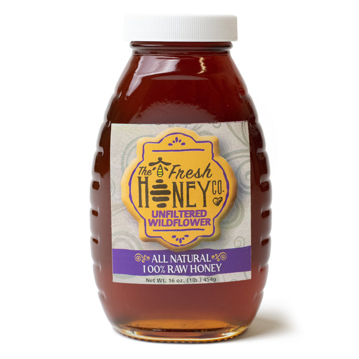 RAW NEW MEXICO HONEY- THE FRESH CHILE COMPANY 16 OZ
